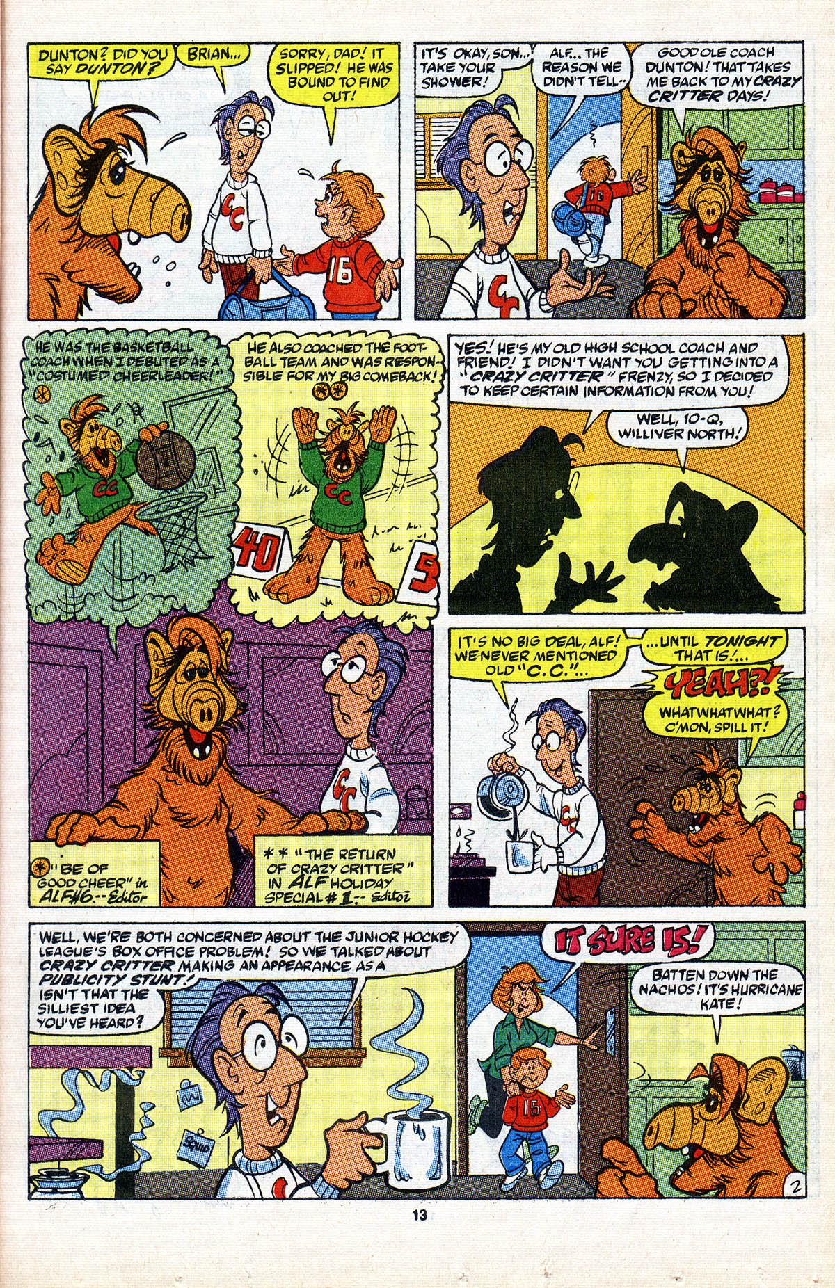 Read online ALF comic -  Issue #2 - 15