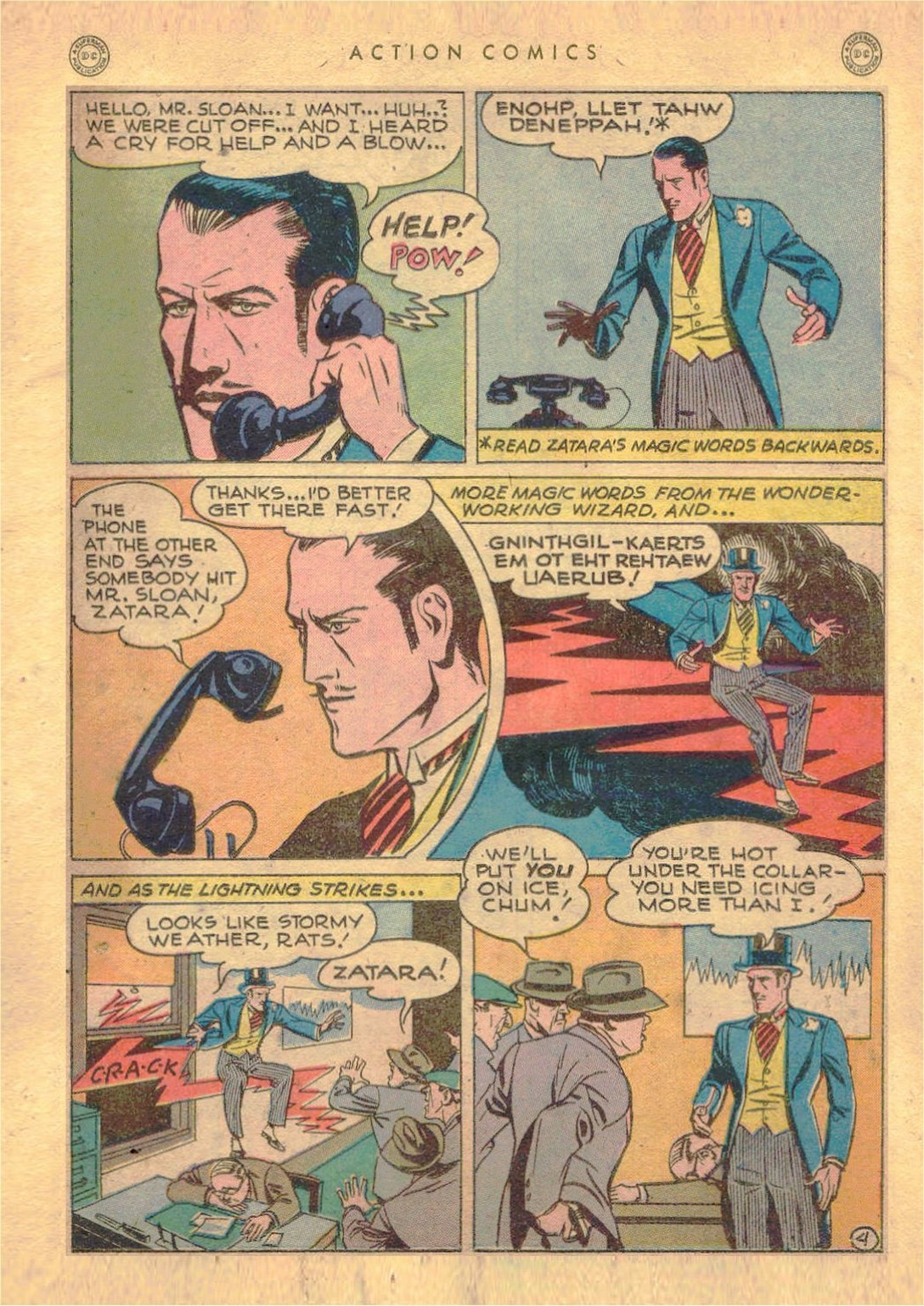 Read online Action Comics (1938) comic -  Issue #107 - 26
