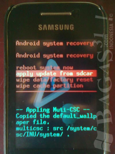 Cara Root Samsung Galaxy Young (GT-S5360) 4
