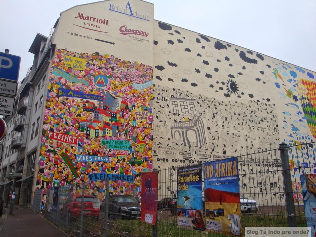 street art em Leipzig