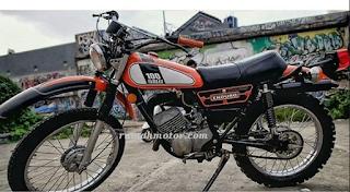 Spesifikasi Motor Yamaha DT 100 Raja Trail Indonesia Era 70an
