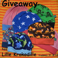 Give Away hos lillekrokodille