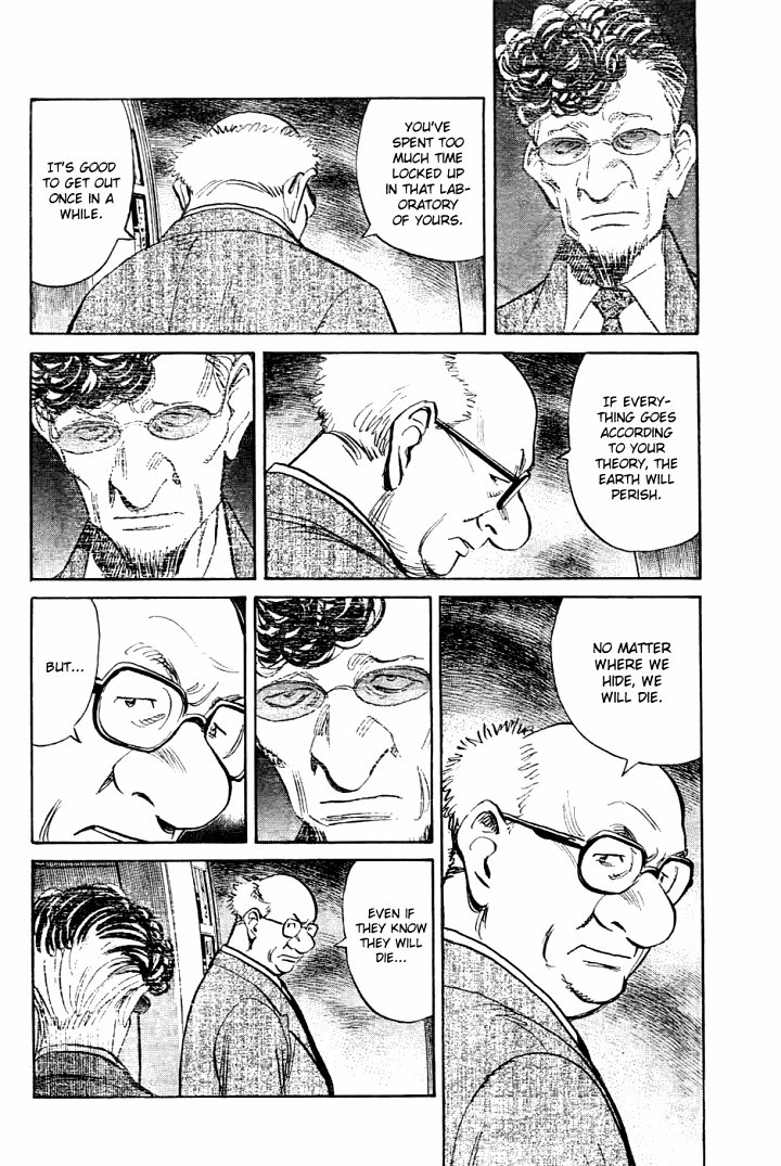 Page 10, Act 64: Sound of the End from Naoki Urasawa's Pluto Volume 8
