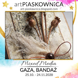 MIXED MEDIA - gaza/bandaż