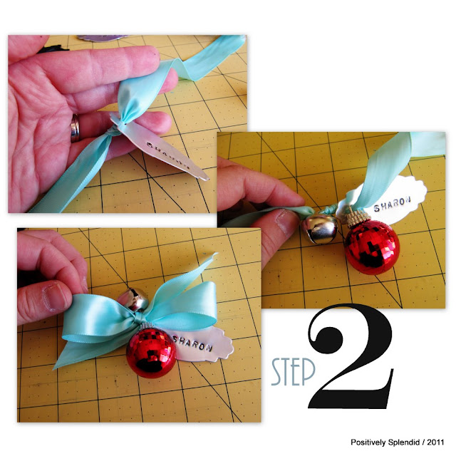 Positively Splendid Crafts: Pine Cone Place Card Ornaments
