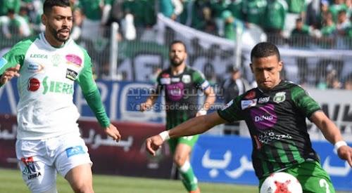 موعد مباراة الرجاء ويوسفية برشيد اليوم السبت 09 / 11 / 2019 في الدوري المغربي