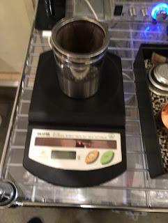 コーヒー豆軽量画像