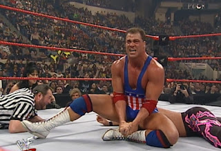 WWE / WWF No Way Out 2000 - Kurt Angle battled Chris Jericho for the Intercontinental Championship