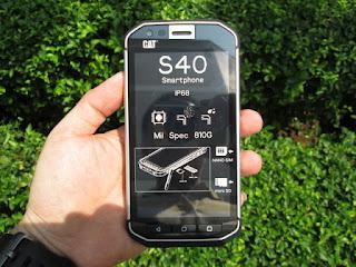 Hape Outdoor Caterpillar Cat S40 4G LTE IP68 Certified Military Standard