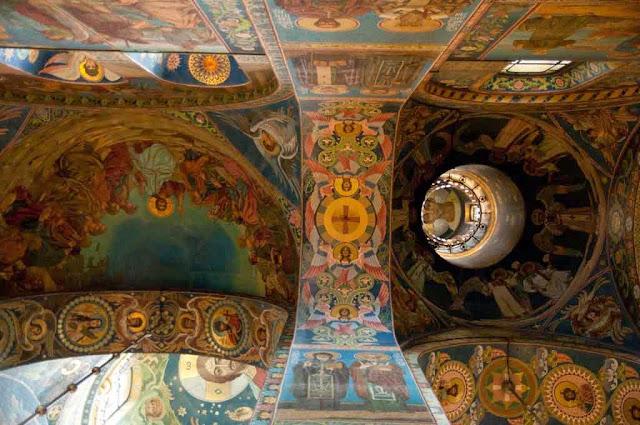 Frescos Iglesia del Salvador sobre la Sangre Derramada