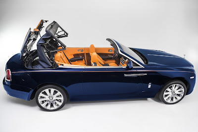 Rolls Royce Dawn Convertible Hd Image 4