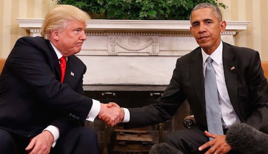 Trump thanks Obama for 'beautiful' letter