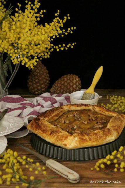 caramelized-banana-puff-pastry, hojaldre-de-platanos-caramelizados