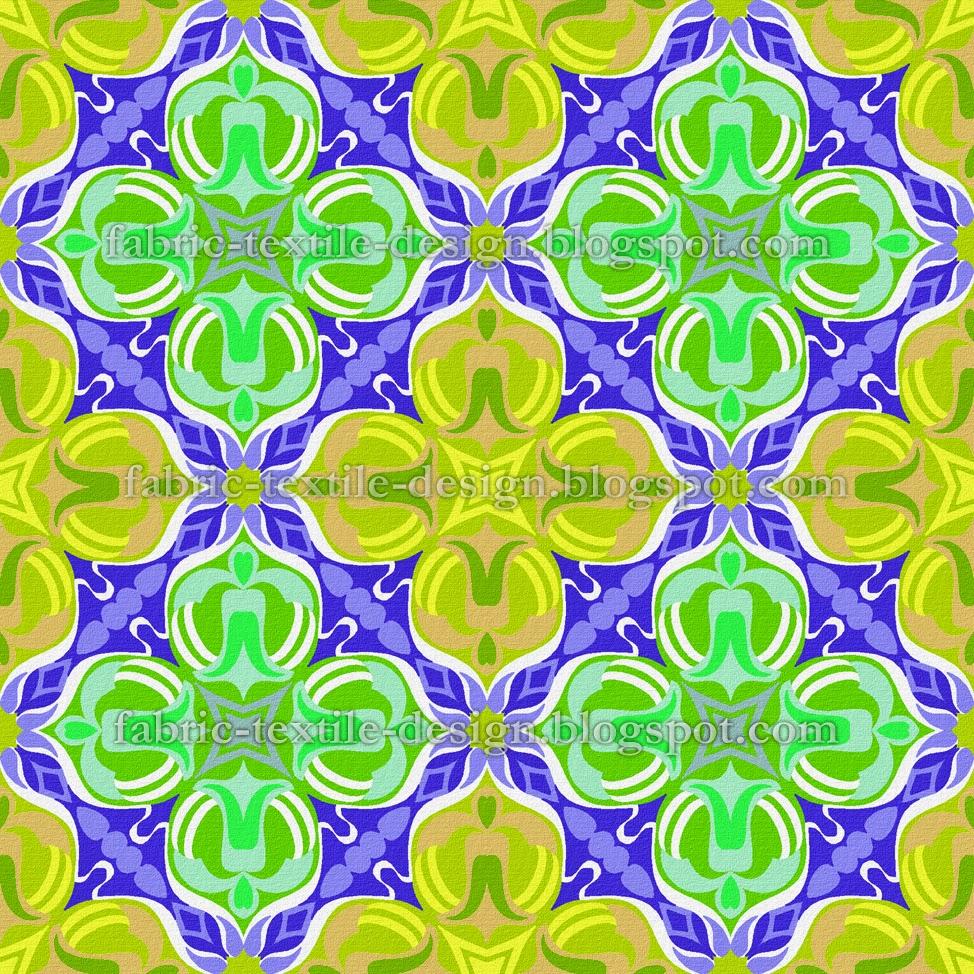 Textile Designs Retro Geometric Wallpaper Pakistani