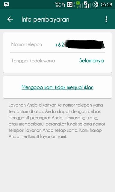 Hore WhatsApp sekarang gratis selamanya