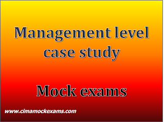 Management level case study (MCS) practice mock exams