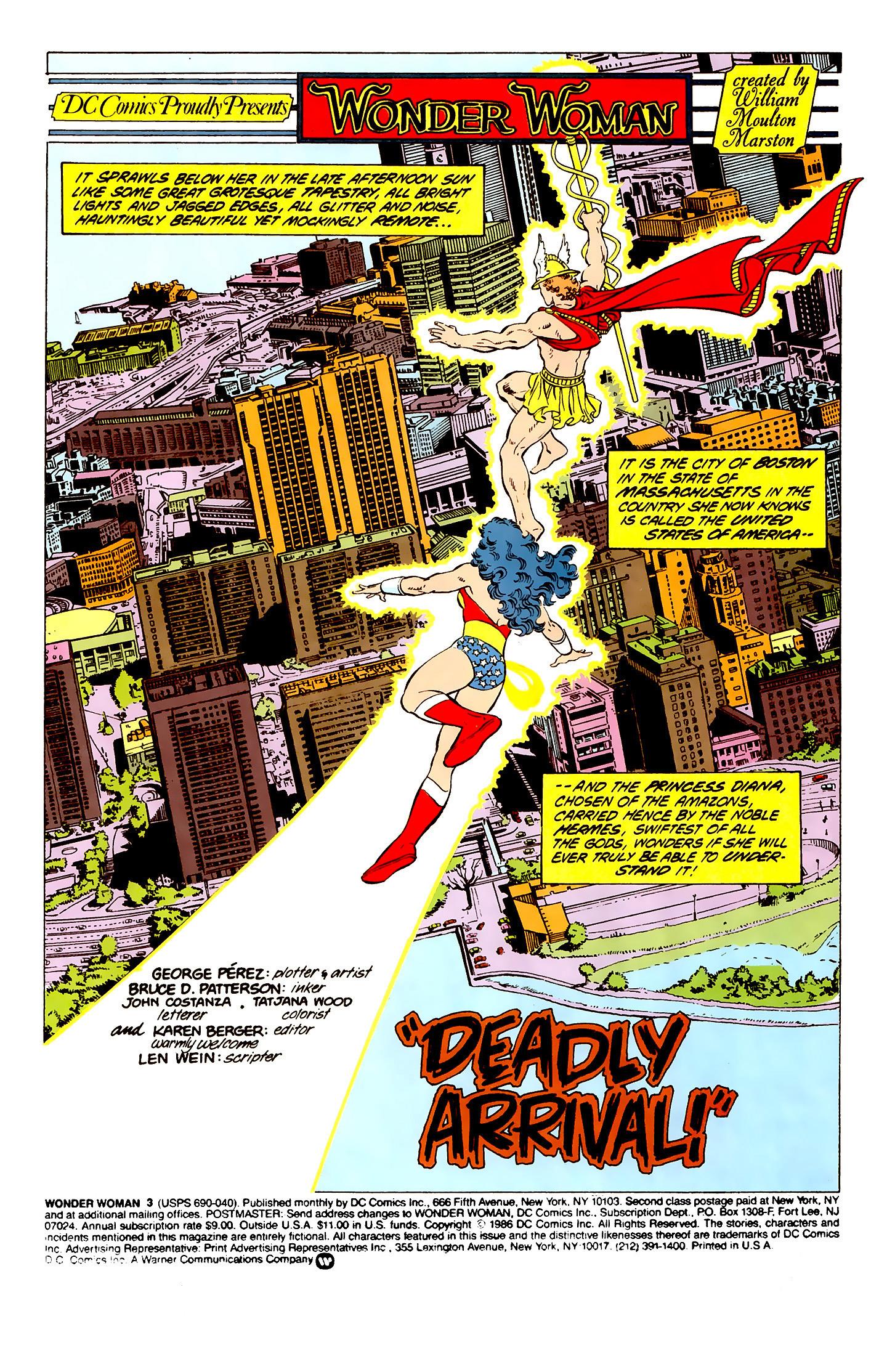Read online Wonder Woman (1987) comic -  Issue #3 - 2