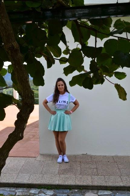 a12e5066f Miss Cupcake blog: Outfit #54: verde menta