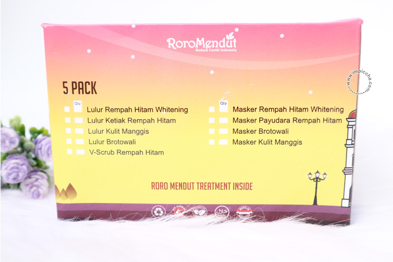 Roro Mendut Treatment
