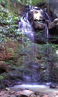 Cascata, Parque da Gruta em Santa Cruz do Sul