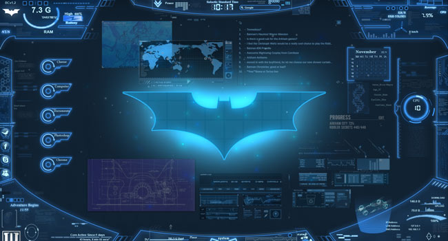 Bat Computer Wallpaper Engine