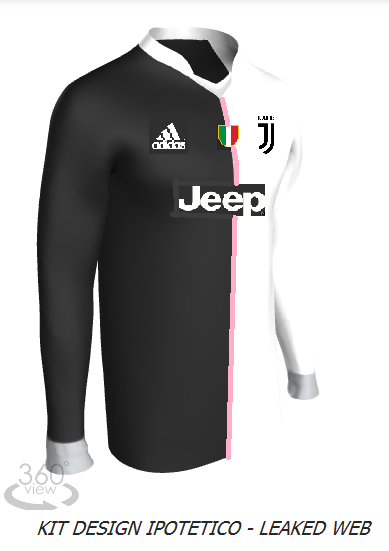 Juventus 19 20 Home Kit Designer Maglia Bicolore I Colori Del