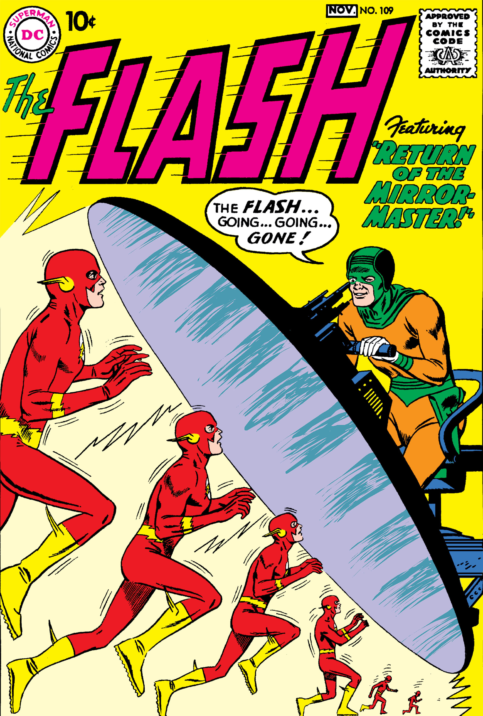 The Flash (1959) 109 Page 1