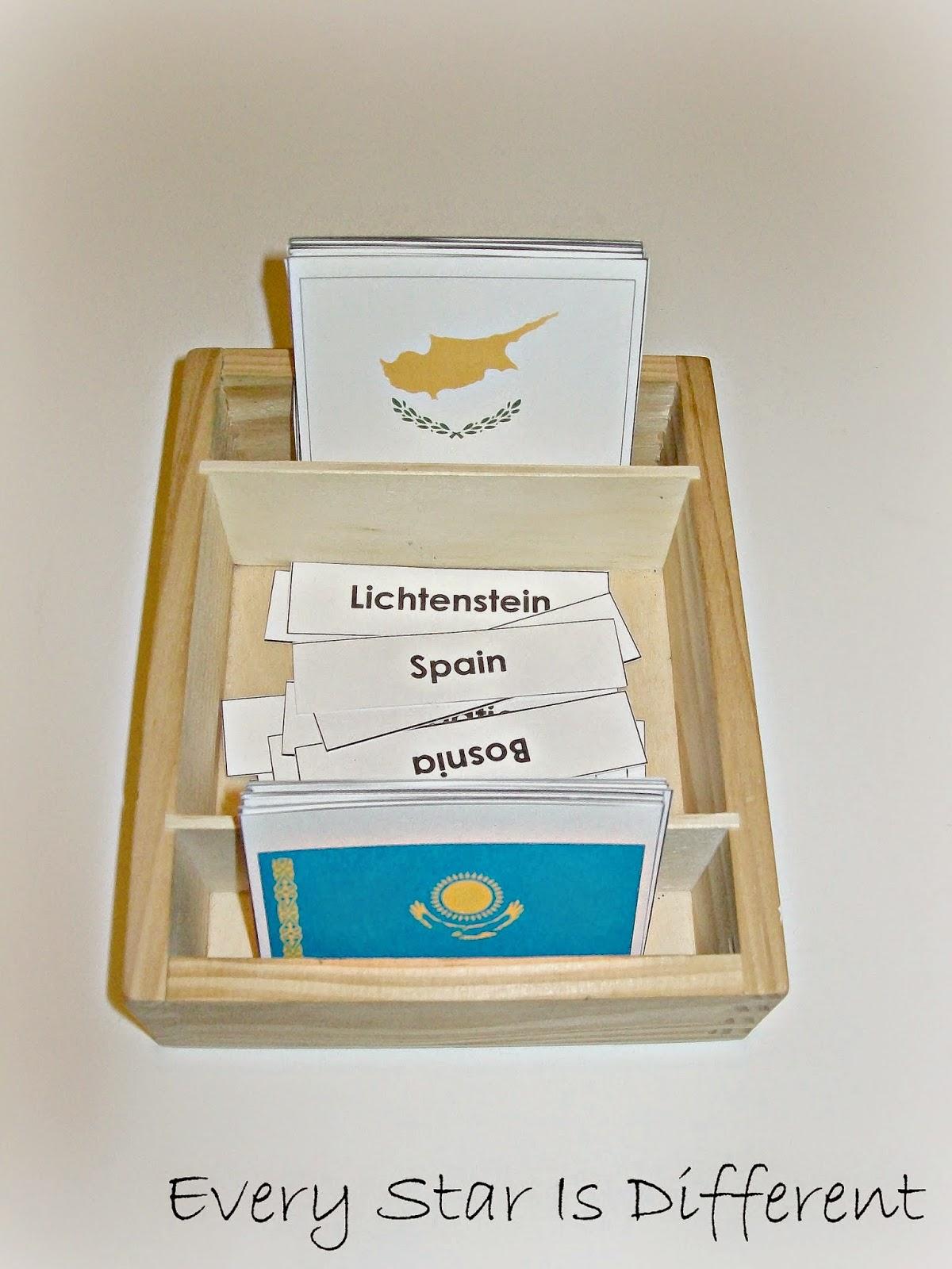 Montessori Inspired Study Of Europe W Free Printables