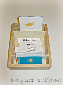 European Country Nomenclature Cards (Free Printable)