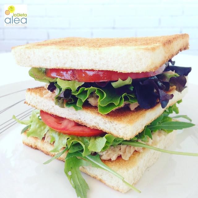 Sándwich de atún para el trabajo