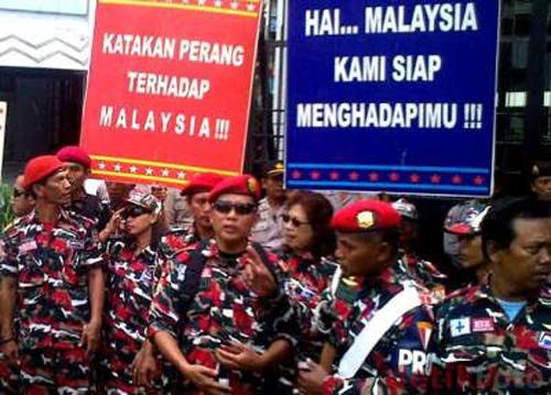 """Laskar Merah Putih akhirnya berjaya """"serang"""" Malaysia"""