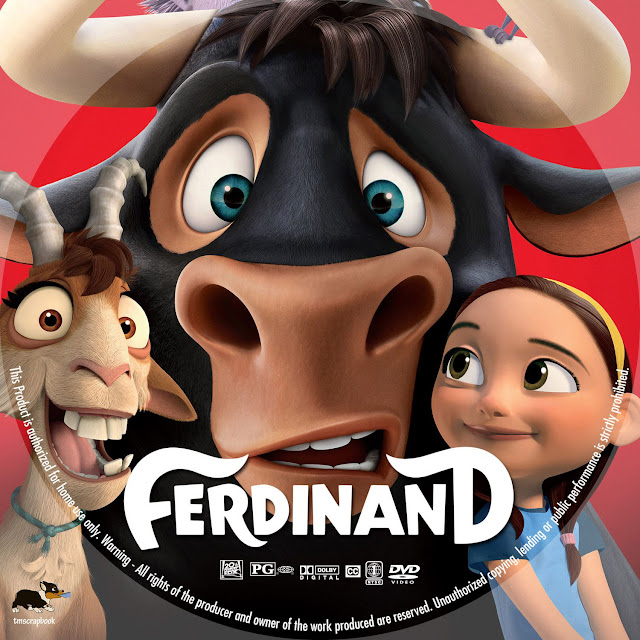 Ferdinand DVD Label
