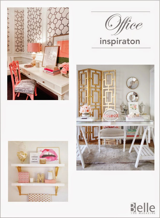 My office makeover inspiration blueprint registry belle the and these are the fab items i found at blueprint malvernweather Images