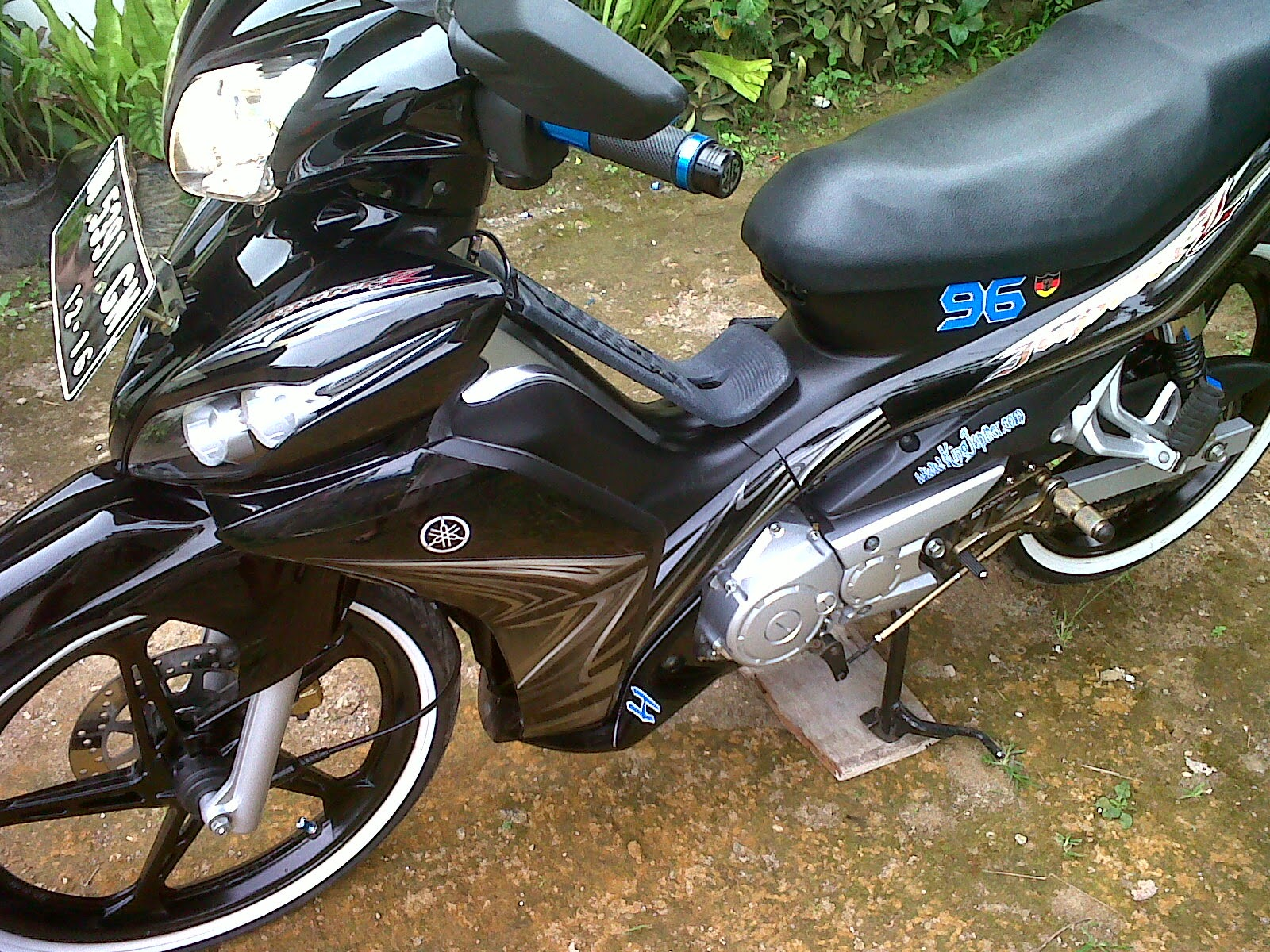 Motor Jupiter Z Modifikasi