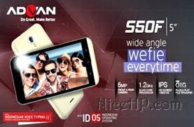 Cara Flash Advan S50F via Upgrade Download Tool tested