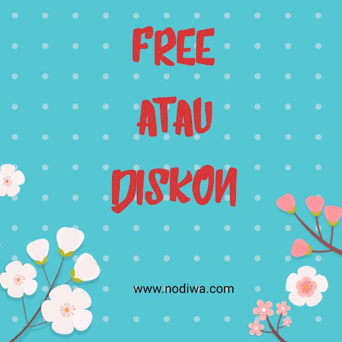 Free atau Diskon