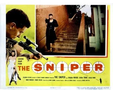 The Sniper movieloversreviews.filminspector.com 1952 poster