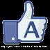 "Alfabeto con ""Me Gusta"" de Facebook."