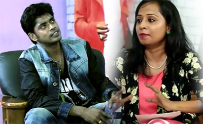 Simbu Secret Opens Up Sandy | THALATHALAPATHY Is My Favourite | Love Proposed in Live Show