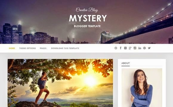 Free SEO responsive photo gallery blogger template.