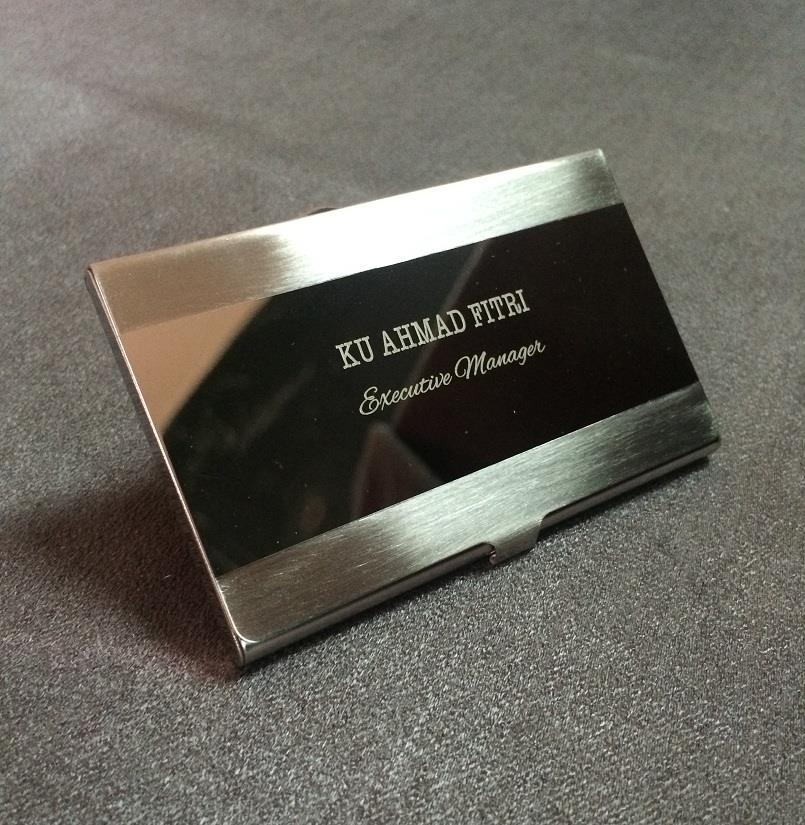 Hadiah store name card holder malaysia dan business card holder engrave name card holder rm45 only colourmoves