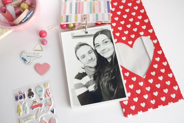 San Valentino 2017 | scrapbooking mini album dettagli4 www.kkushi.com