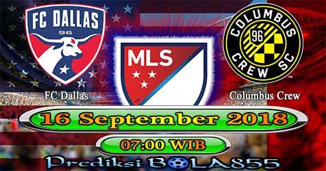 Prediksi Bola855 FC Dallas vs Columbus Crew 16 September 2018