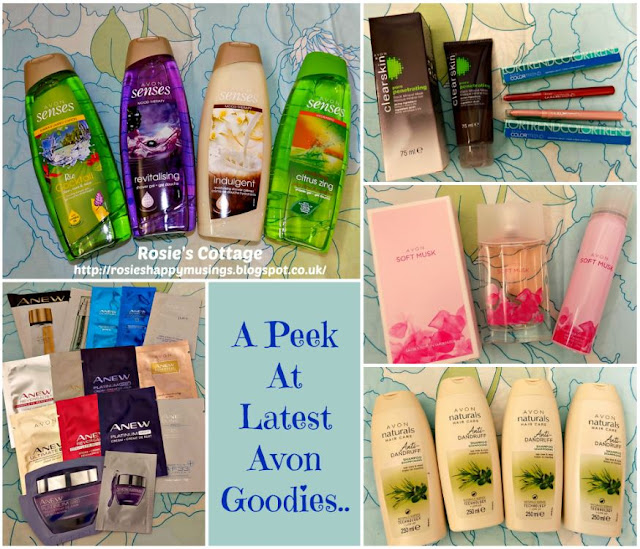 A Peek At What Was Included In My Latest Order From Avon
