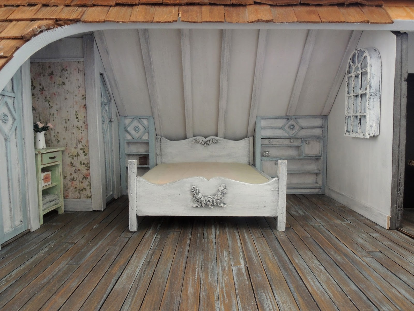 Liberty Biberty The Farmhouse Attic Bedroom