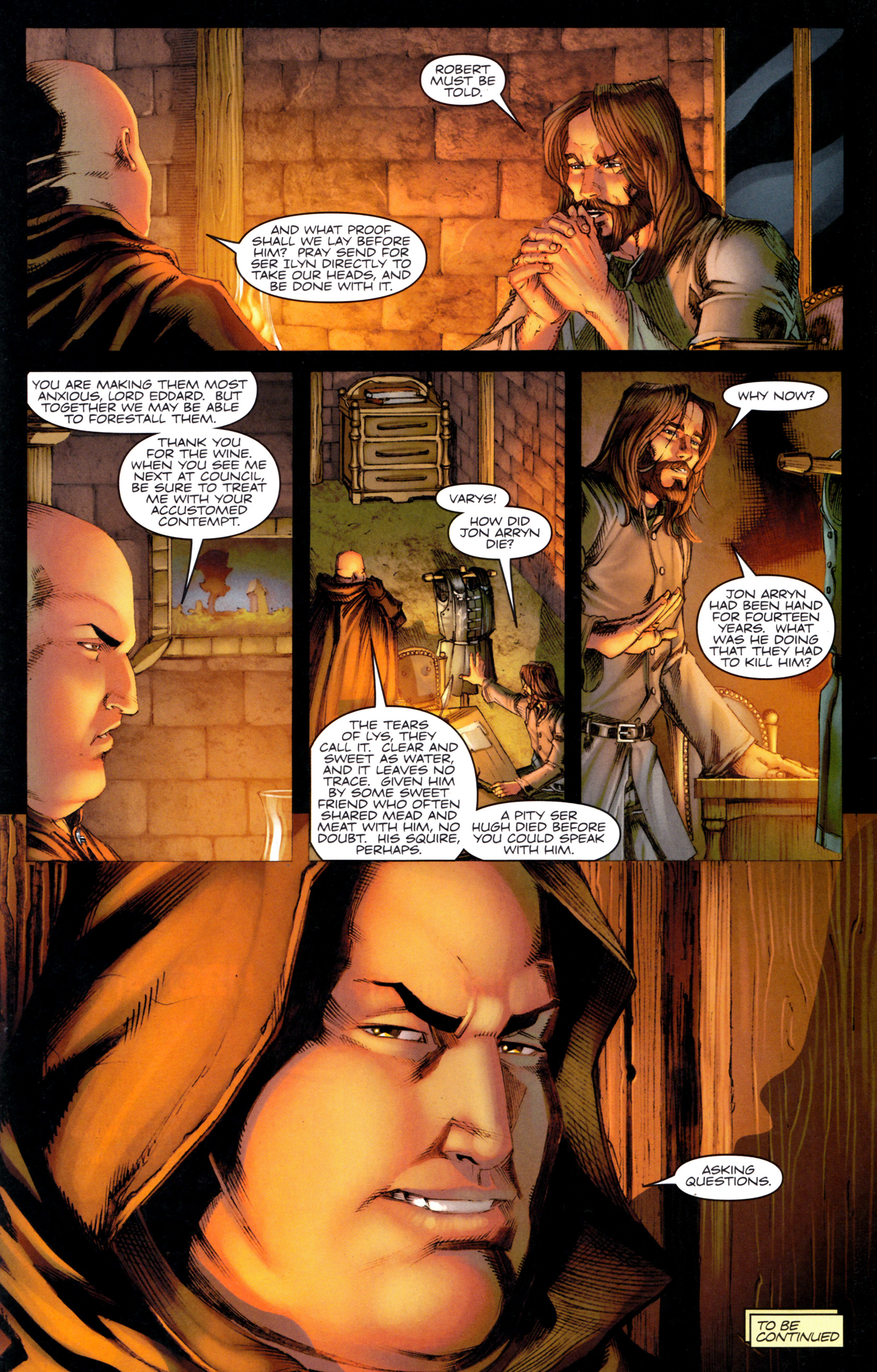 Read online A Game Of Thrones comic -  Issue #9 - 31