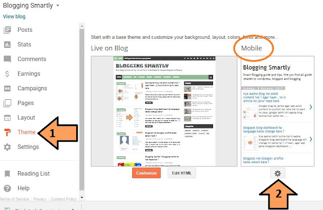 Blogger Theme Mobile Friendly