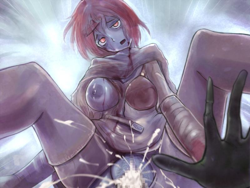 Girl hentai zombie Zombie porn