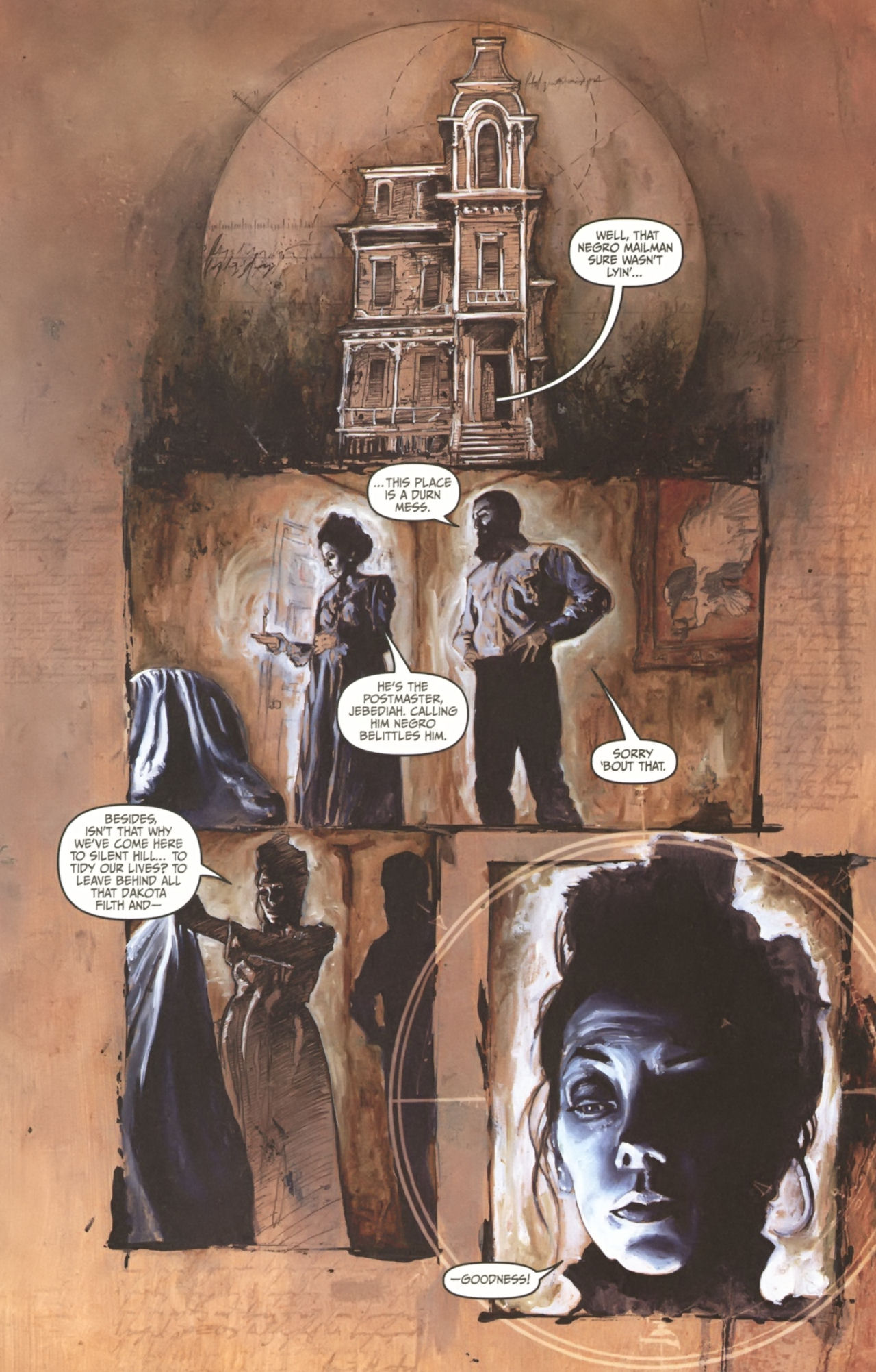 Read online Silent Hill: Past Life comic -  Issue #1 - 14