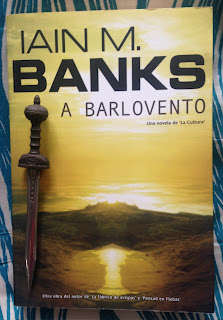 Portada del libro A barlovento, de Iain M. Banks